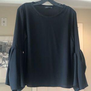 Zara Bell Sleeve Top - Small